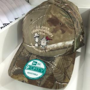 US Open camo hat