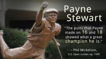 IMAGE: Payne, Pinehurst forever linked in memory