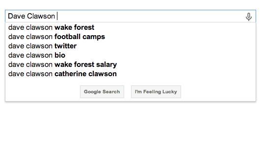 Google Dave Clawson