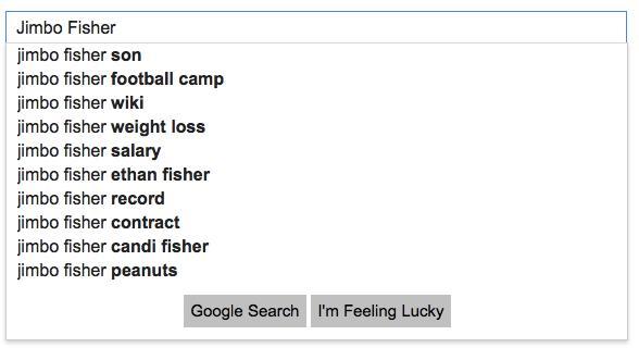 Google Jimbo Fisher