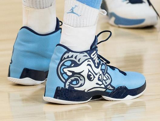 On Wednesday, North Carolina unveiled a new Jordan Brand Nike shoe design  for their Sweet