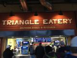 Triangle Eatery inside the DBAP