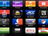AppleTV menu