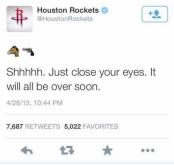Houston Rockets tweet