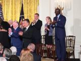 Michael Jordan receives Presidential Medal of Freedom