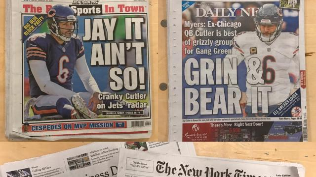 New York front pages
