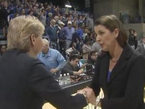 Duke UNC wbb coaches